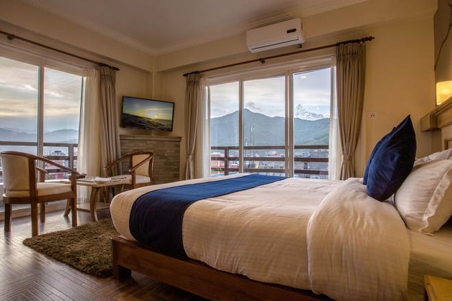 Hotel White Pearl - Pokhara - Bedroom