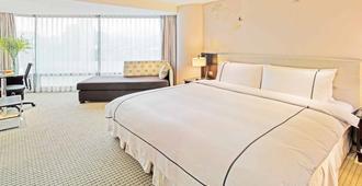 K Hotel Dunnan - טאיפיי - חדר שינה