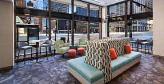 Hampton Inn Cleveland-Downtown - Cleveland - Lounge