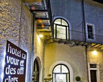Hotel Cavour Et Des Officiers - Bard - Будівля
