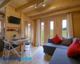 Chalets am National Park Eifel - Schleiden - Wohnzimmer
