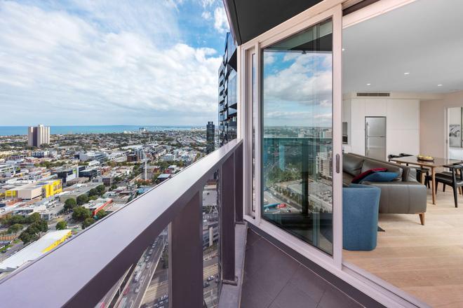 馬爾科想像公寓 - 墨爾本 - 陽台