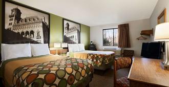 Super 8 by Wyndham Richmond/Chamberlayne Rd - Richmond - Bedroom
