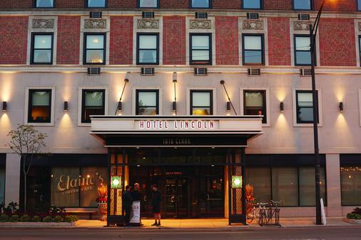 Hotel Lincoln - Chicago - Toà nhà