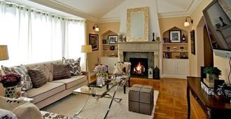 Luxury Upper Flat Marina Private Condo - San Francisco - Wohnzimmer