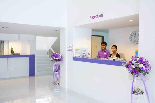 Hotel Zing - Trung tâm Pattaya - Lễ tân