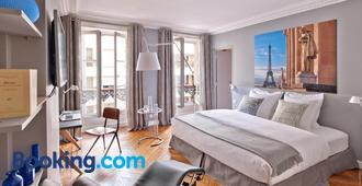 My Home For You B&b - Париж - Спальня