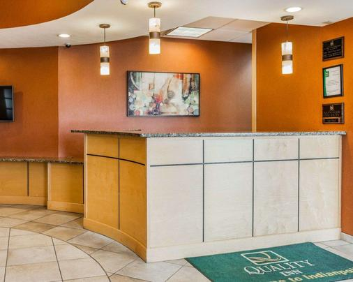 Quality Inn East - Indianapolis - Front desk
