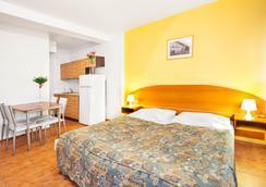 茲科夫公寓酒店 - 布拉格 - 臥室