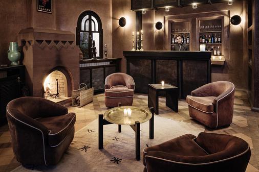 Villa Al Assala Palmeraie Piscine chauffée - Marrakesch - Bar