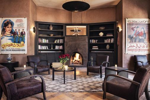 Villa Al Assala Palmeraie Piscine chauffée - Marrakesch - Lounge