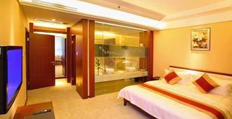 Jangsu Yinmao Hotel - נאנז'ינג - חדר שינה