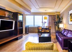 Showboat Hotel - Atlantic City - Living room