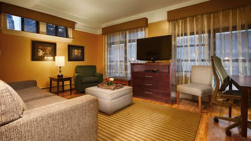 Best Western Plus Hospitality House - New York - Schlafzimmer