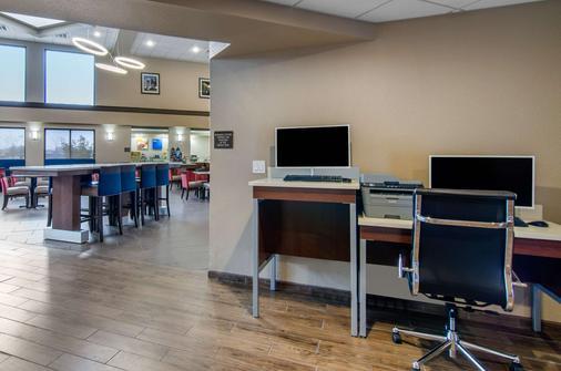 Comfort Inn and Suites Wichita - Wichita - Khu vực làm việc