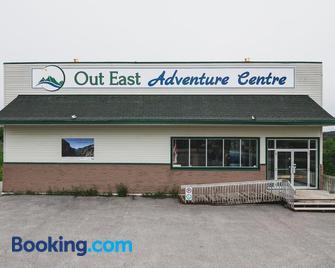 Out East Adventure Centre - Rocky Harbour - Building