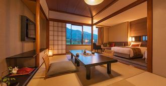 Miyajima Grand Hotel Arimoto - האטסוקאישי - חדר שינה
