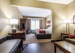 Comfort Suites - Effingham - Makuuhuone