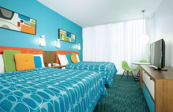 ユニバーサルズ カバナ ベイ ビーチ リゾート - オーランド - 寝室