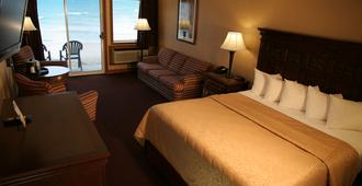 Hamilton Inn Select Beachfront - Mackinaw City - Schlafzimmer