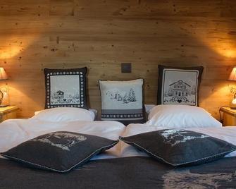 Hotel-restaurant De La Poste - Ayent - Bedroom