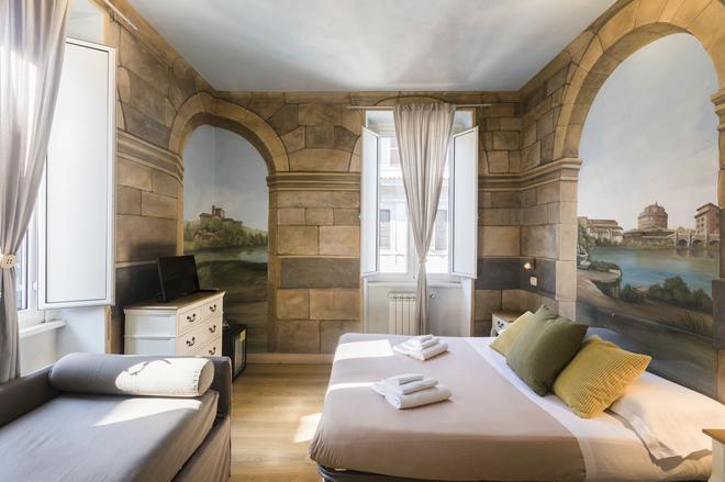 B&B Suites Trastevere - Rom - Schlafzimmer