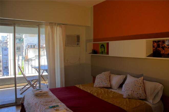 Hostel Suites Florida - Buenos Aires - Phòng ngủ