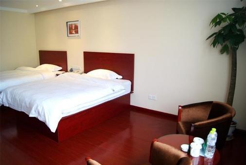 Green Tree Inn Changzhou Qingshan Bridge Business Hotel - Changzhou - Phòng ngủ