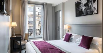 Best Western Montcalm - פריז - חדר שינה