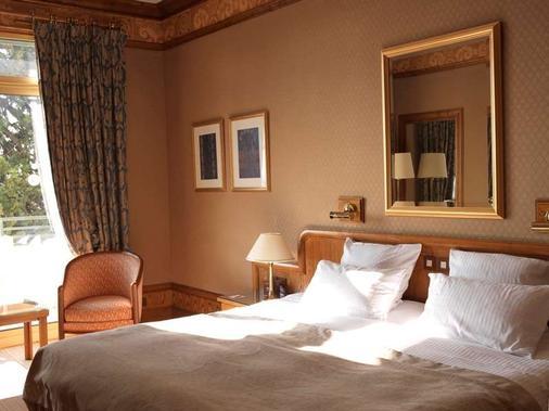 Grand Hôtel- Domaine De Divonne - Divonne-les-Bains - Bedroom