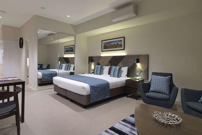 墨爾本溫德姆飯店 - 墨爾本 - 臥室