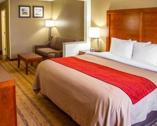 Comfort Inn & Suites - Coralville - Bedroom