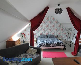 Gîte dans les Alpes Mancelles - Gesnes-le-Gandelin - Bedroom
