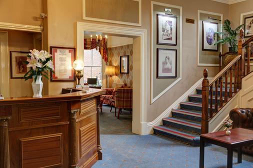 Best Western Kilima Hotel - York - Front desk