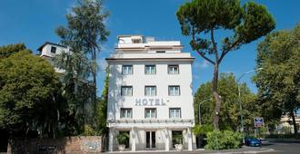 Hotel La Pergola - Rome - Bâtiment