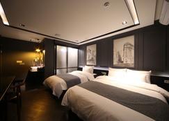 Dublin Hotel - Busan - Soveværelse