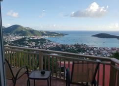 Little Indigo Apartments - Saint Thomas Island - Balcony