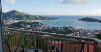 Little Indigo Apartments - Saint Thomas Island - Balkong