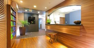 Flexstay Inn Shinagawa - טוקיו - דלפק קבלה