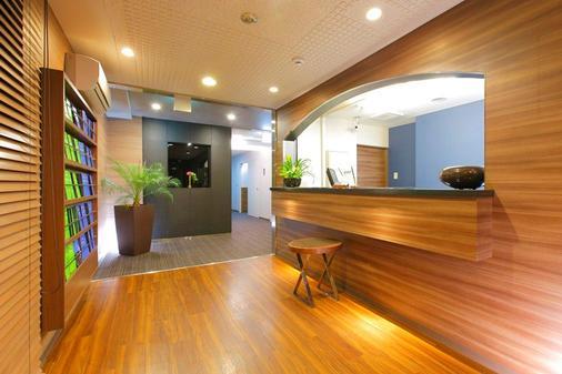 Flexstay Inn Shinagawa - Tokyo - Front desk