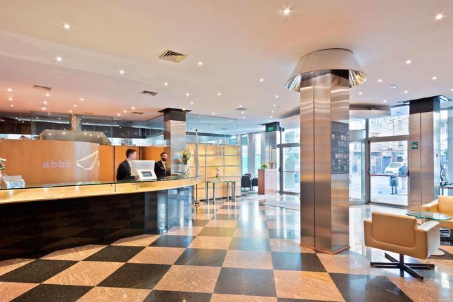 Abba Sants Hotel - Barcelona - Front desk