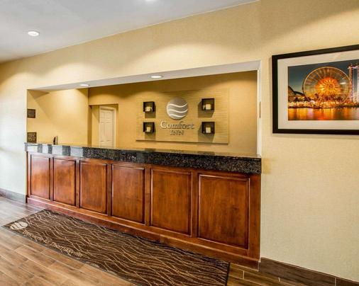 Comfort Inn Thomasville I-85 - Thomasville - Front desk