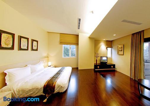 Sun Moon Lake Karuizawa Villa B&b - Yuchi - Phòng ngủ