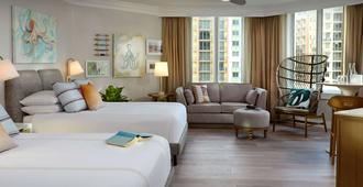Pelican Grand Beach Resort - A Noble House Resort - Fort Lauderdale - Bedroom