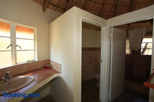 Hlane Royal National Park - Caravan Park - Simunye - Bathroom