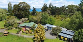 Mokoia Downs B&B - Rotorua - Vista del exterior