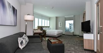 SpringHill Suites by Marriott Charlotte Uptown - Charlotte - Bedroom