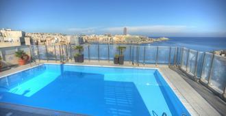 Plaza Regency Hotels - Sliema - Πισίνα