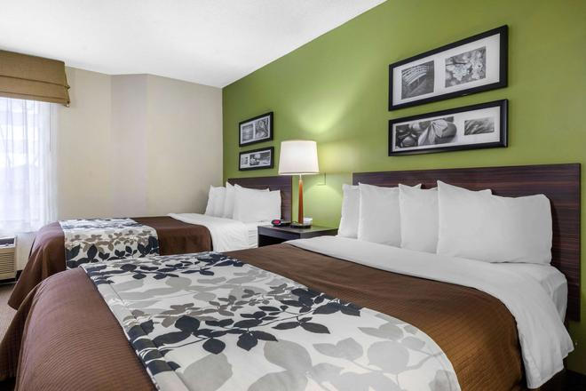 Sleep Inn - Lansing - Bedroom