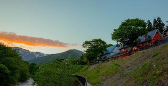Tanigawadake Raspberry Youth Hostel - Minakami - Vista del exterior
